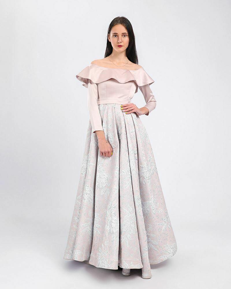 8366 Soiree Dress - Gold