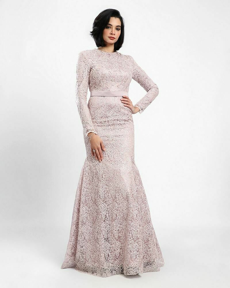 8382 Soiree Dress -Pink