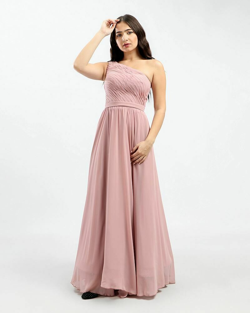 8383 Soiree Dress - Cashmere