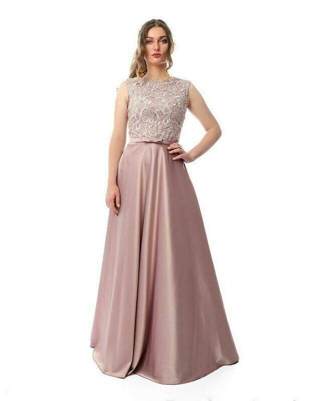 8438 Soiree Dress - Cashmer