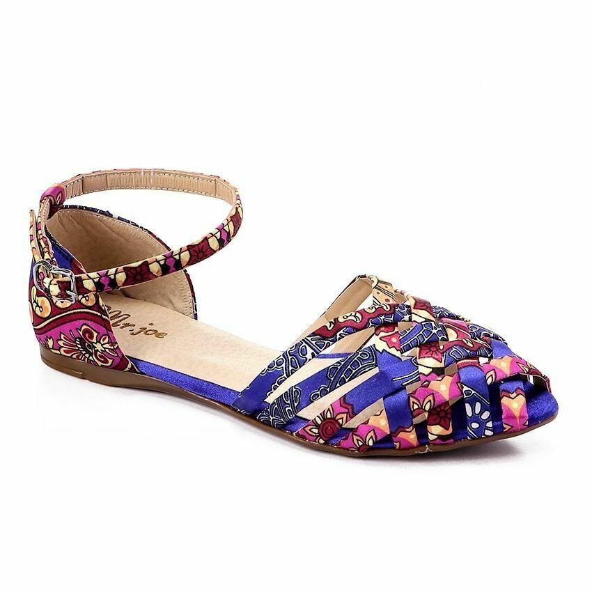 3364 Ballet Flat Shoes - Navy
