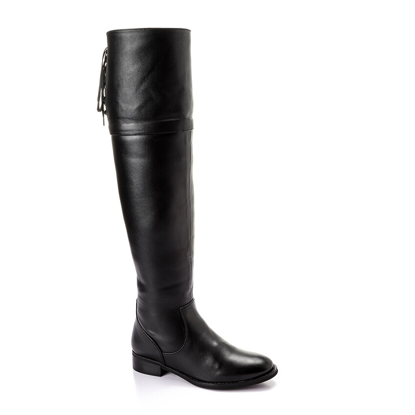 3315 knee high boot - black