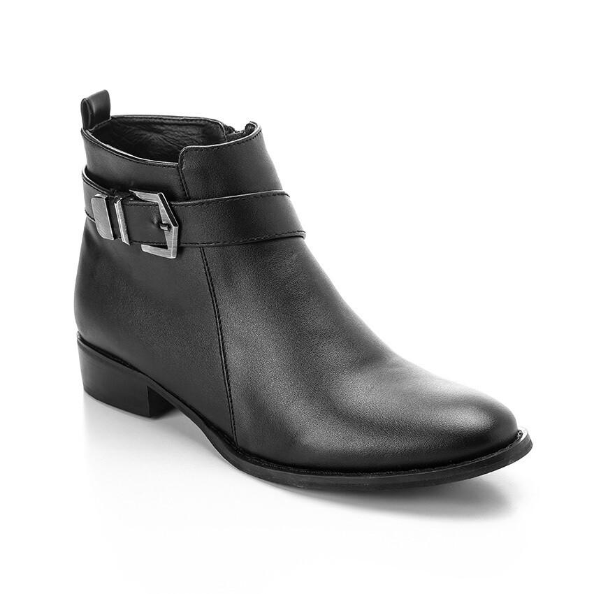 3324 -Half Boot - Black