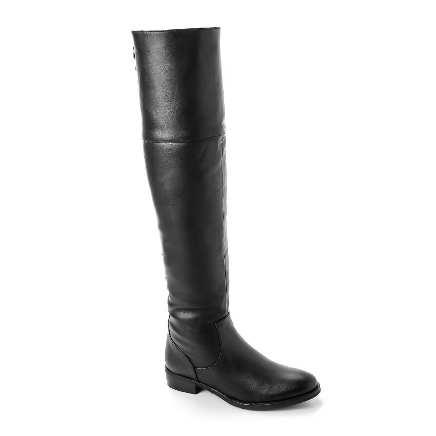 3320 -  Knee High Boot - Black