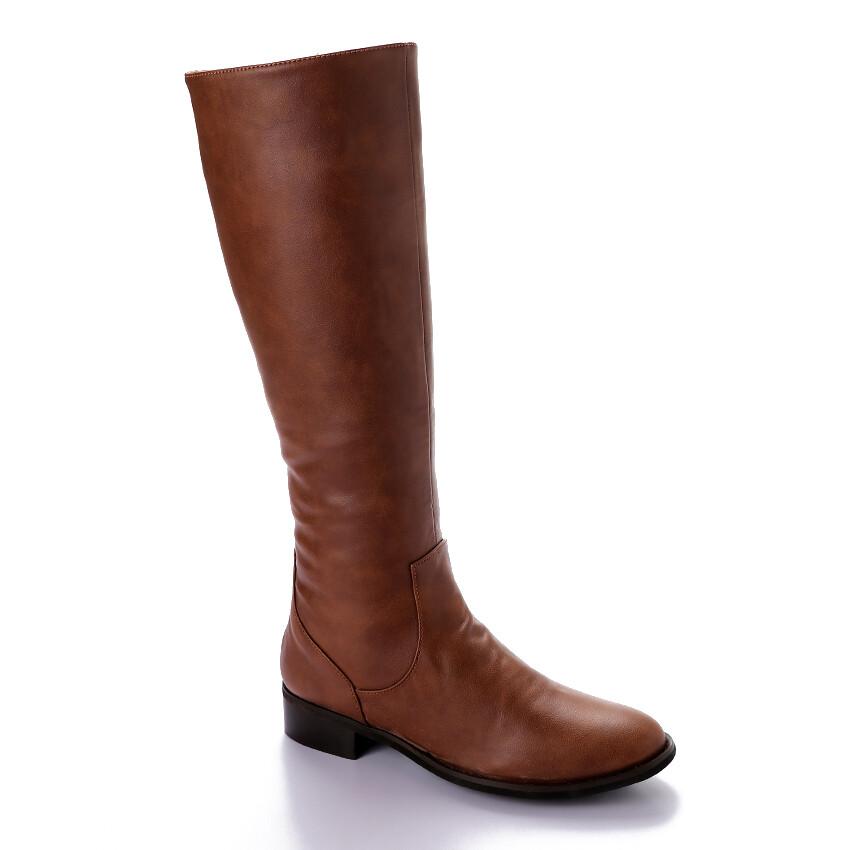 3409 -Leather Boot - Havan
