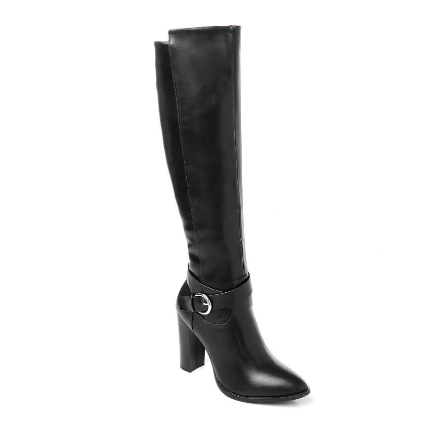 3295High Boot - Black