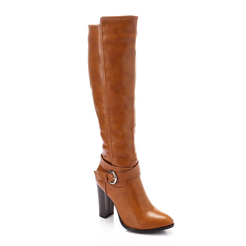 3295High Boot - Tan