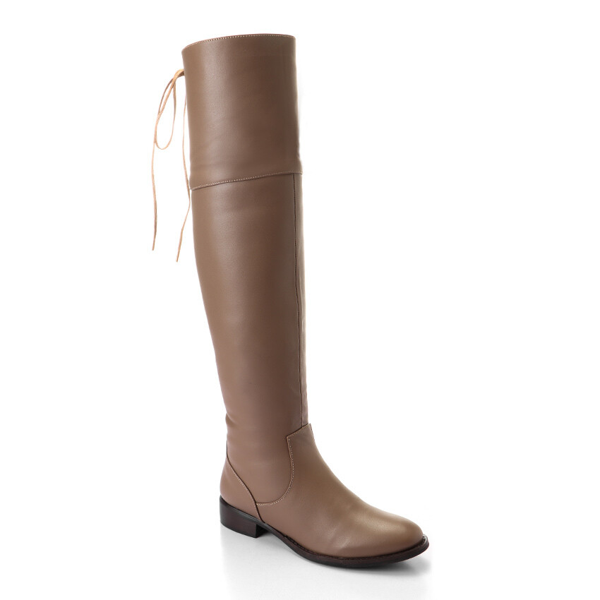 3315 Knee High Boot -Cafe