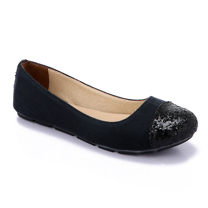 3269  Flat Shoes - Black*Ketan