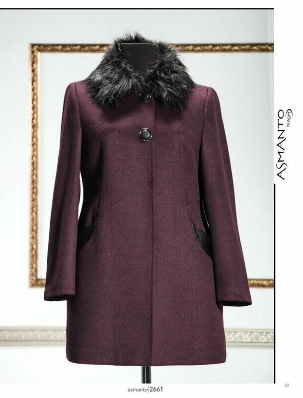 8203 Coat - Purple