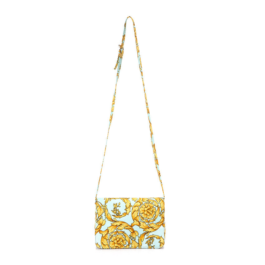 4809 Bag Light Blue*gold