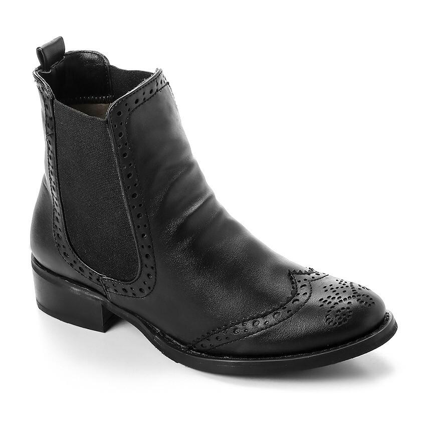 3321 - Half Boot -  Black
