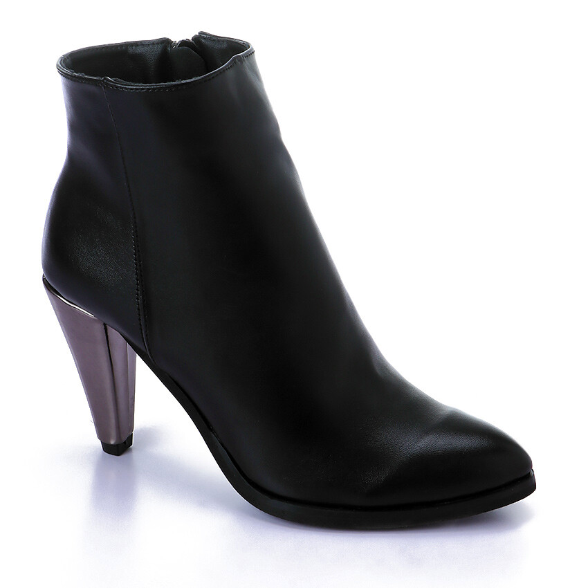 3416 Half Boot -Black