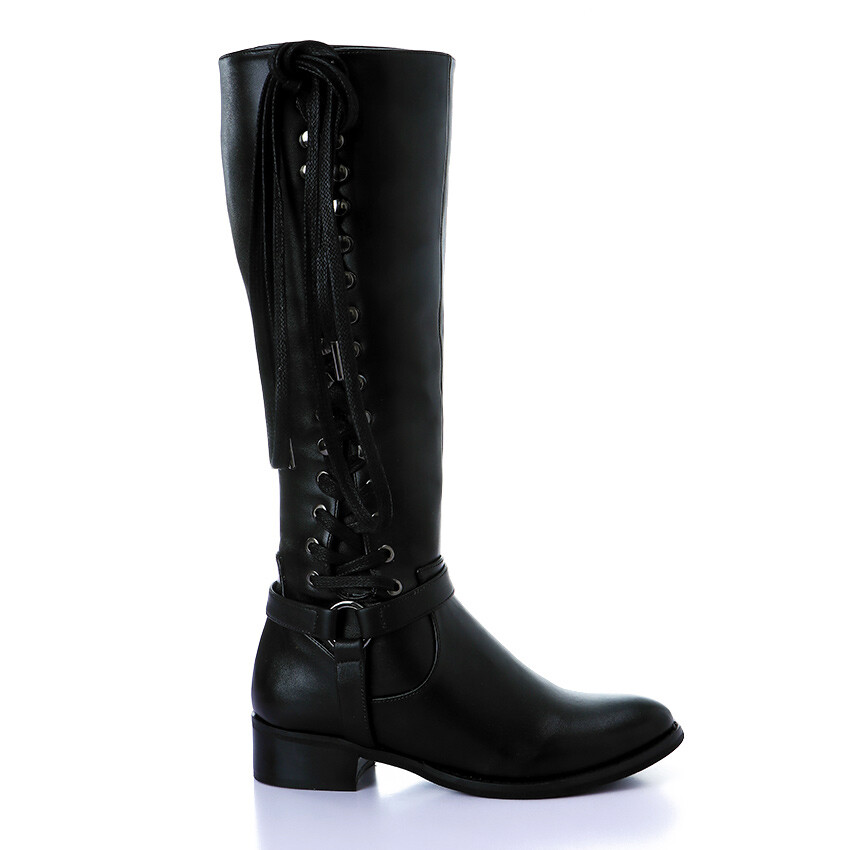 3420 High Boot - Black
