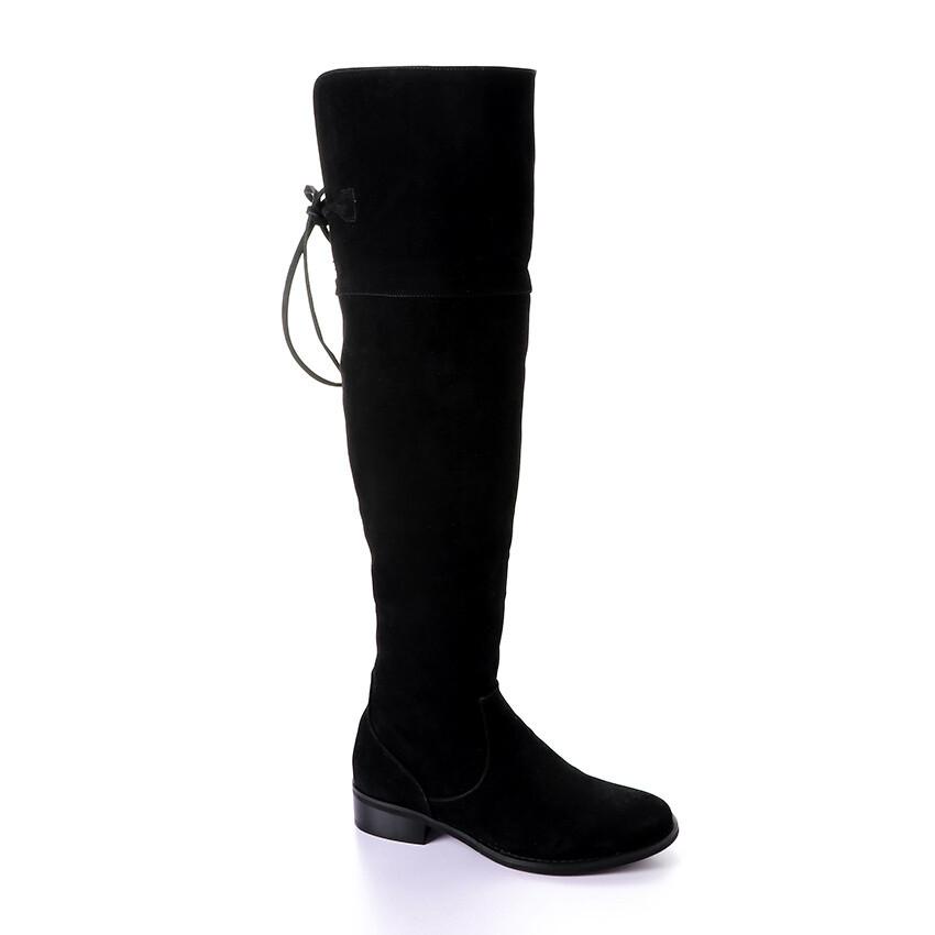 3411 High Boot  - Black su