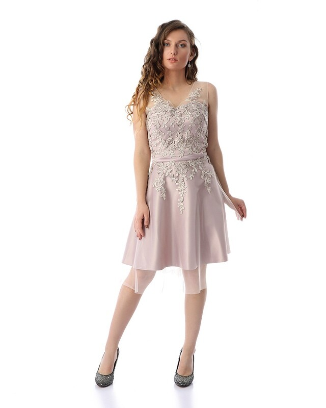 8410 Soiree Dress -ros
