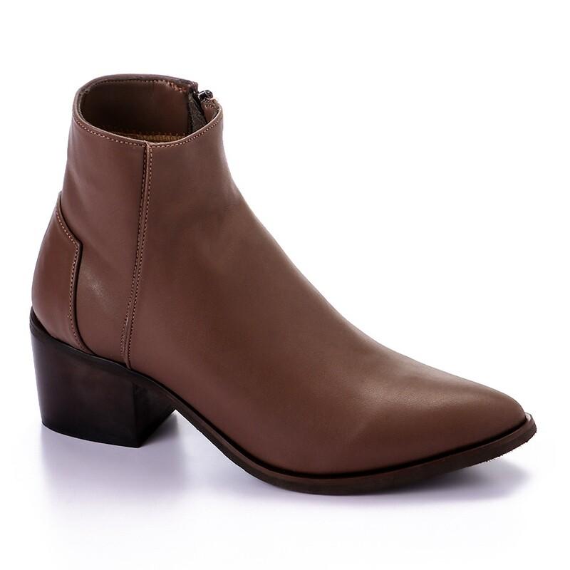 3418 Half Boot - Brown
