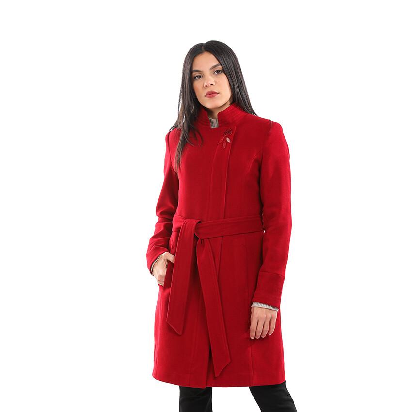 8196 Coat -Burgundy