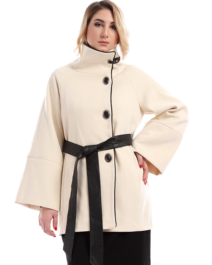 8201 Coat - Off-white