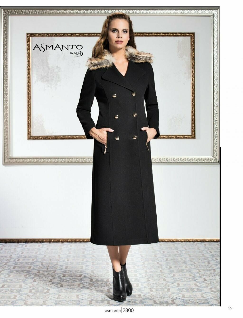 8204 Coat - Black