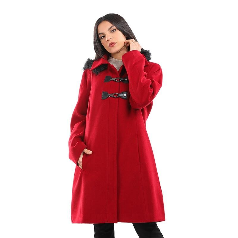8199 Coat - Burgundy