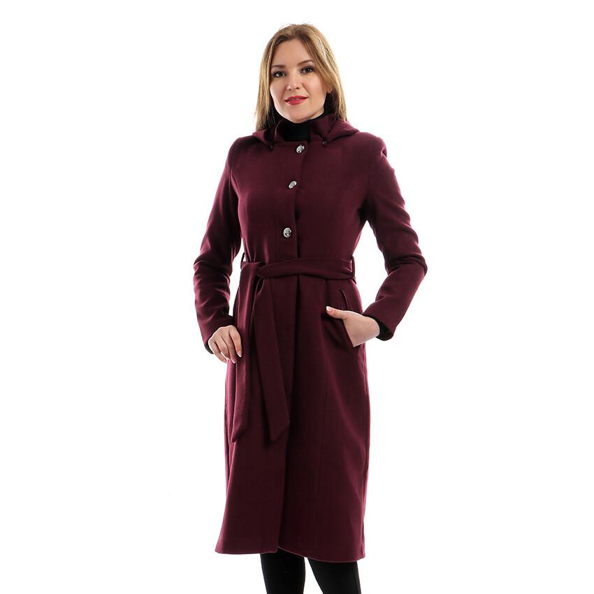8209 Coat - Burgundy