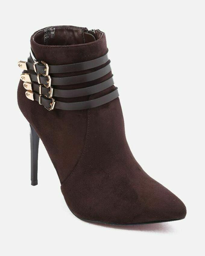 3147 Half Boot -Brown