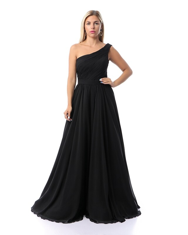 8383 Soiree Dress - Black