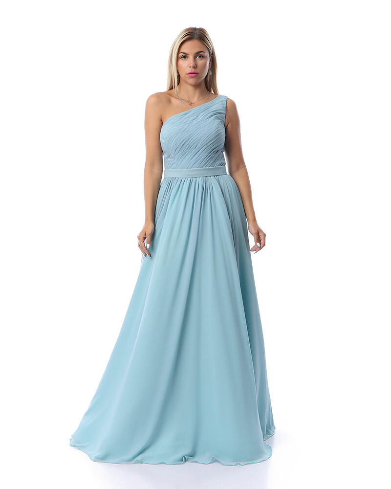 8383 Soiree Dress - Baby Blue