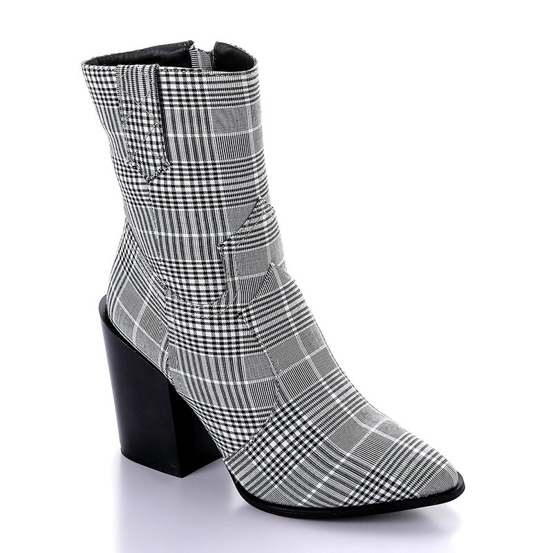3284 Half Boot -Gray