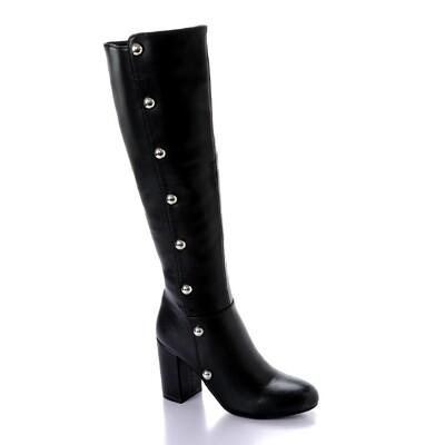 3286 High Boot - Black