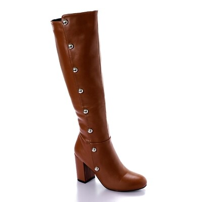 3286 High Boot -Brown