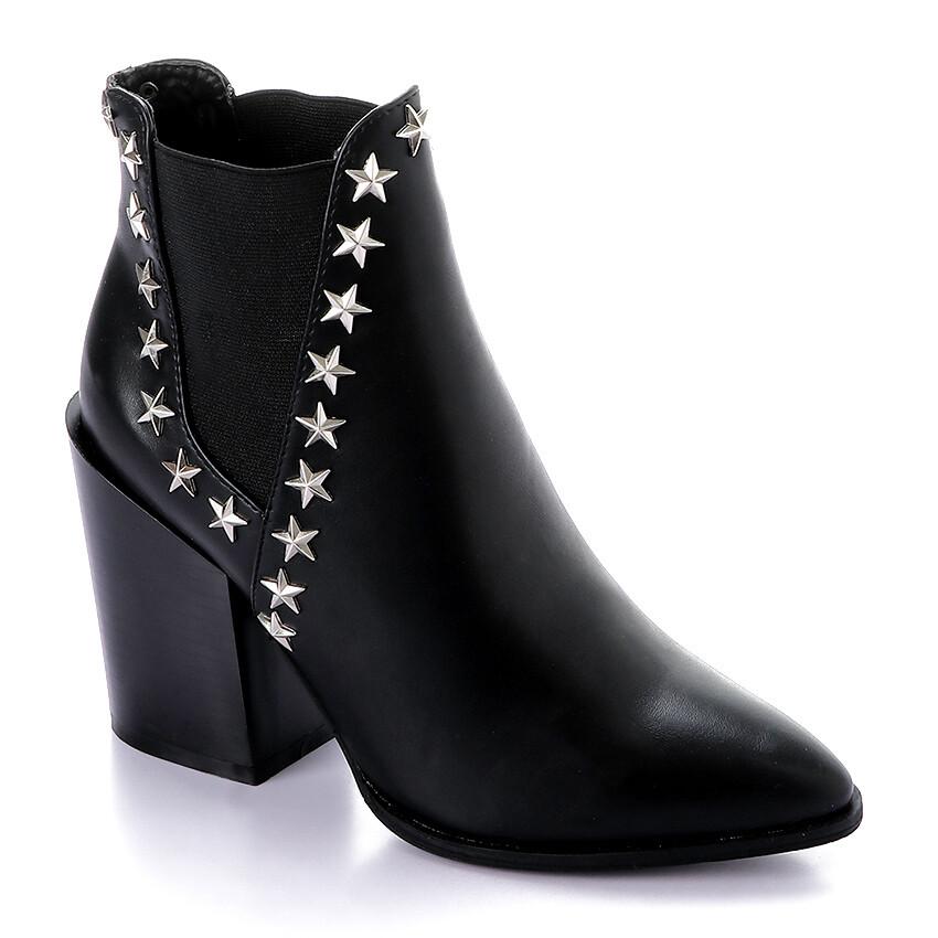 3288 Half Boot -Black