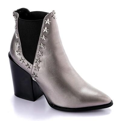 3288 - Half Boot -Champange