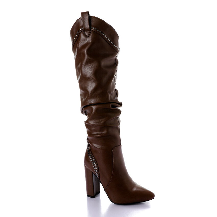 3289 High Boot - Brown