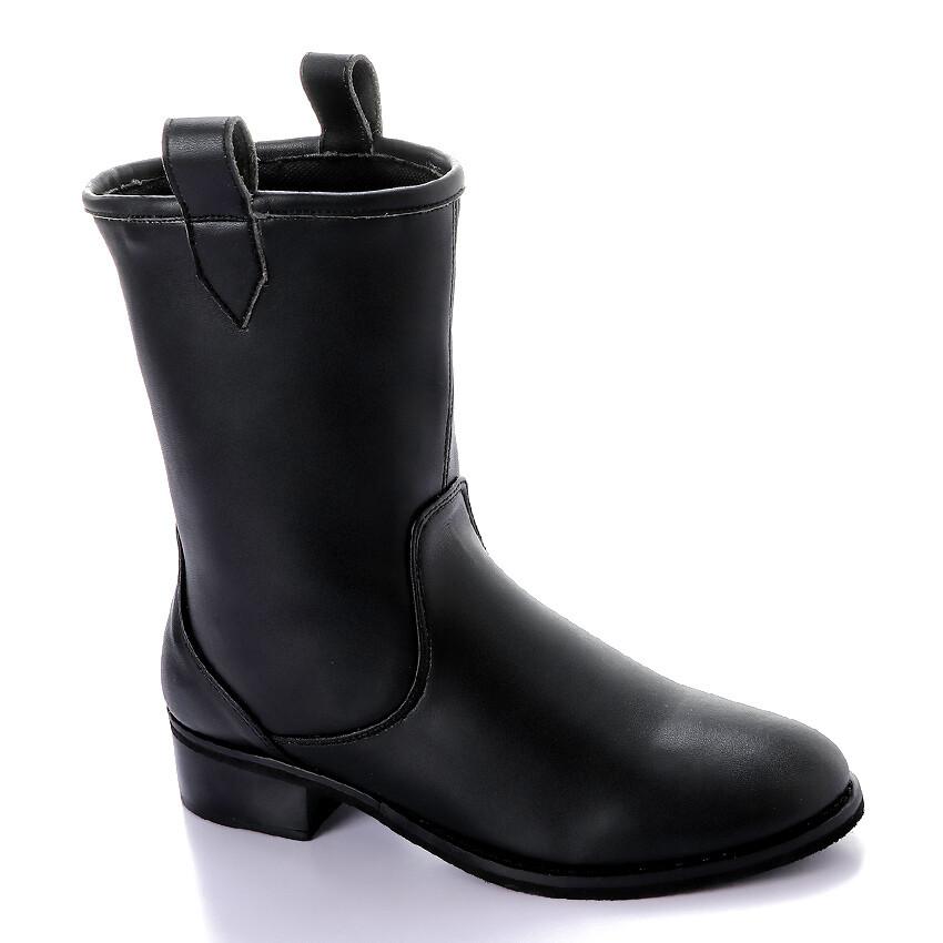3424 Half Boot - Black