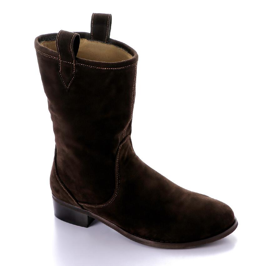 3424 Half Boot - BrownSu