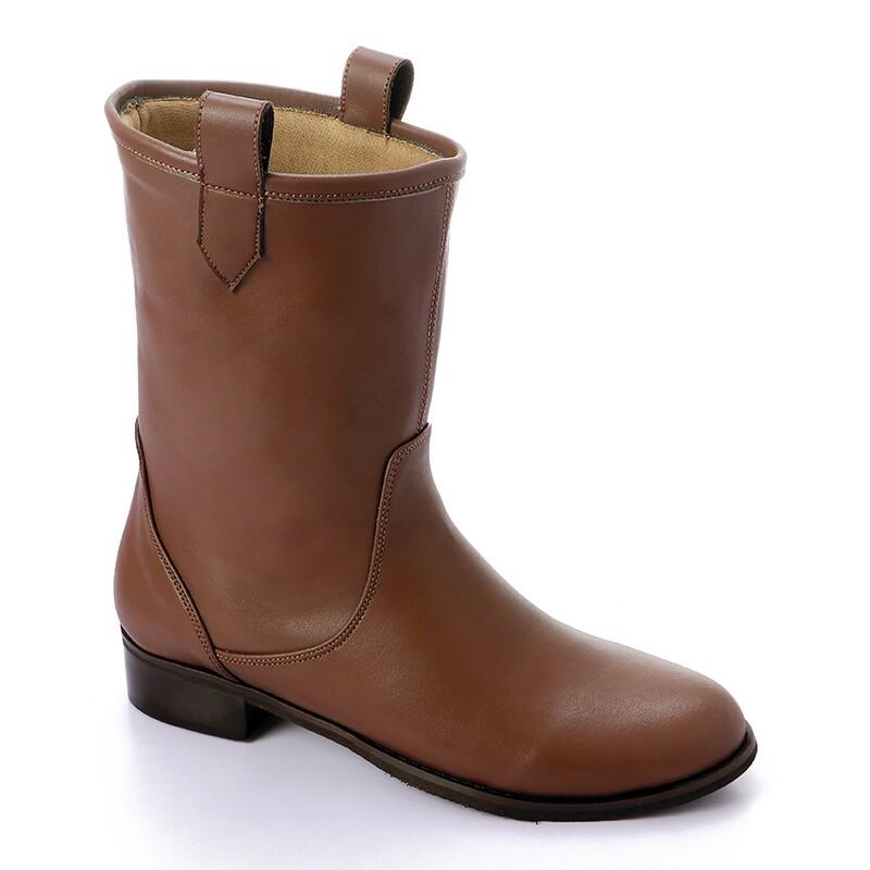 3424 Half Boot - Brown
