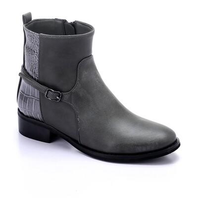 3430 Half Boot - gray