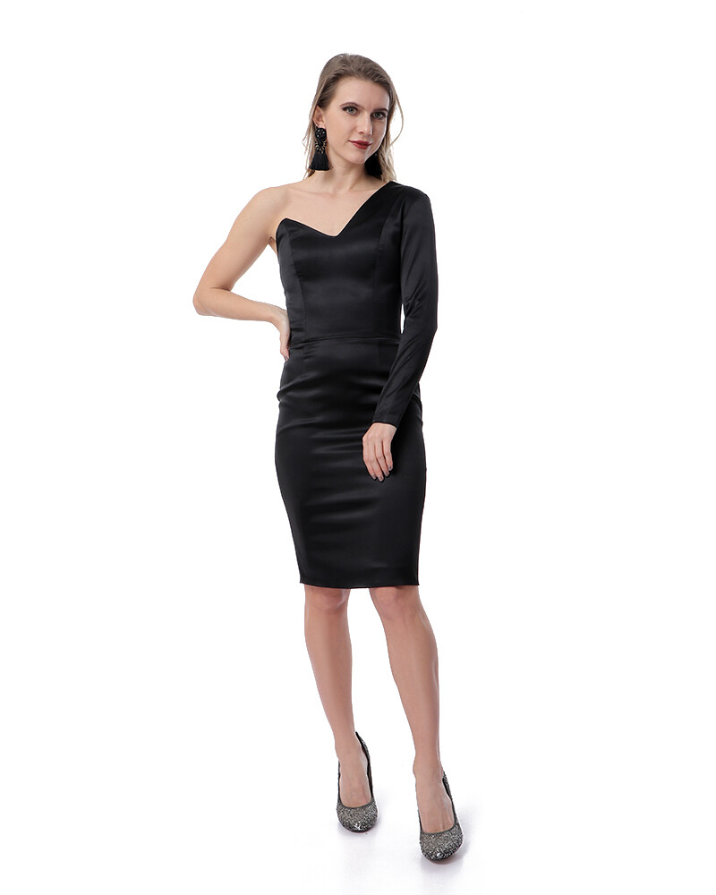 8474 Soiree Dress - Black