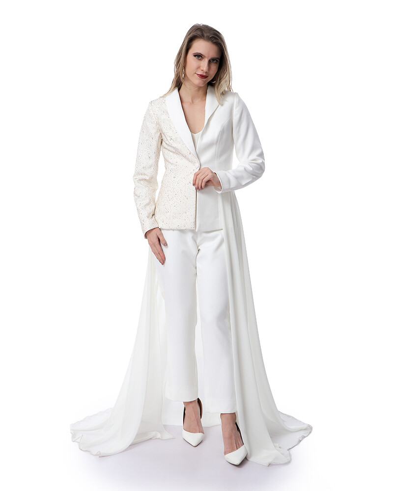 8488 Soiree suit - Off White
