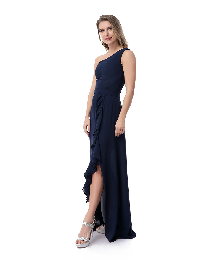 8471 Soiree Dress - Navy