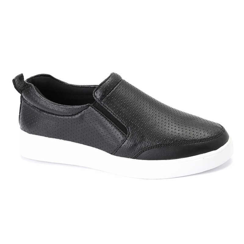 3135 Casual Sneakers - Black dotted