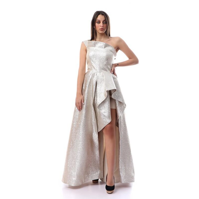8460 Soiree Dress - Silver