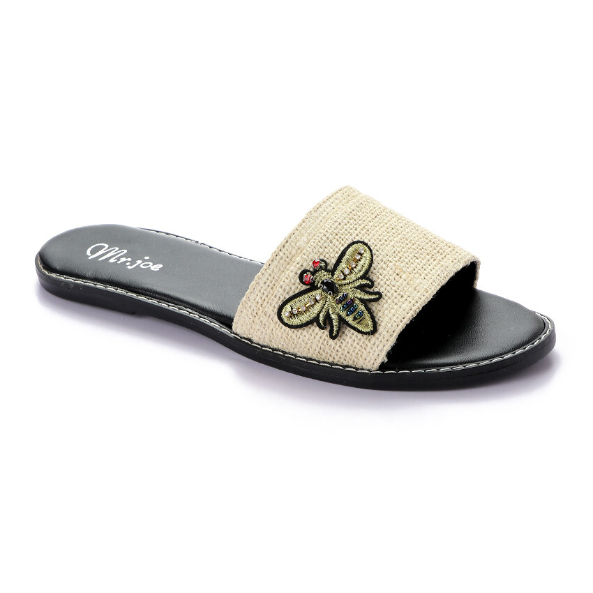 3386 Slipper - Beige