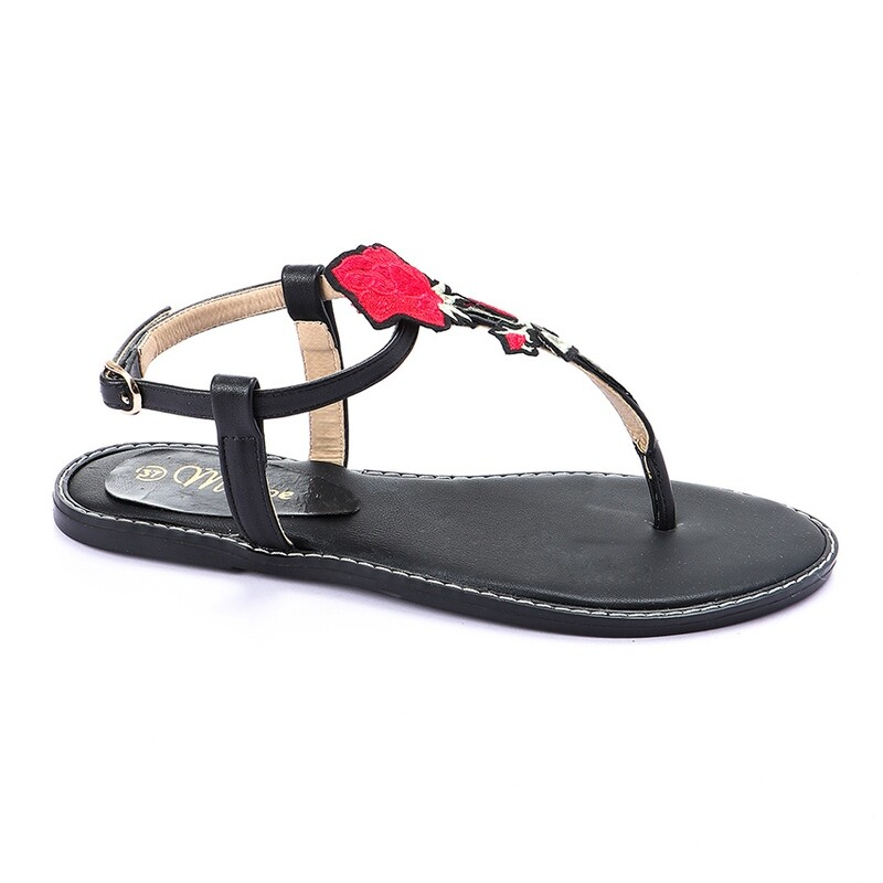 3247 Sandal - Black