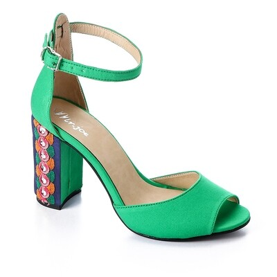 3387 Sandal - Green