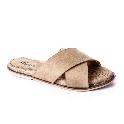 3395 Slipper - Beige Suede