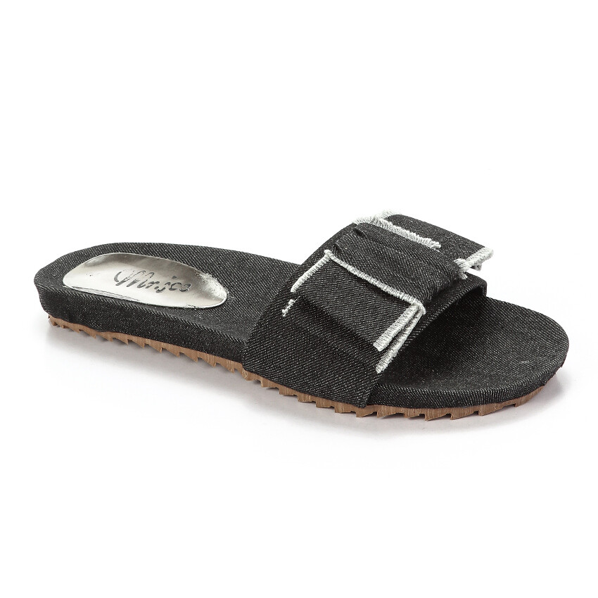 3257  Slipper - Black