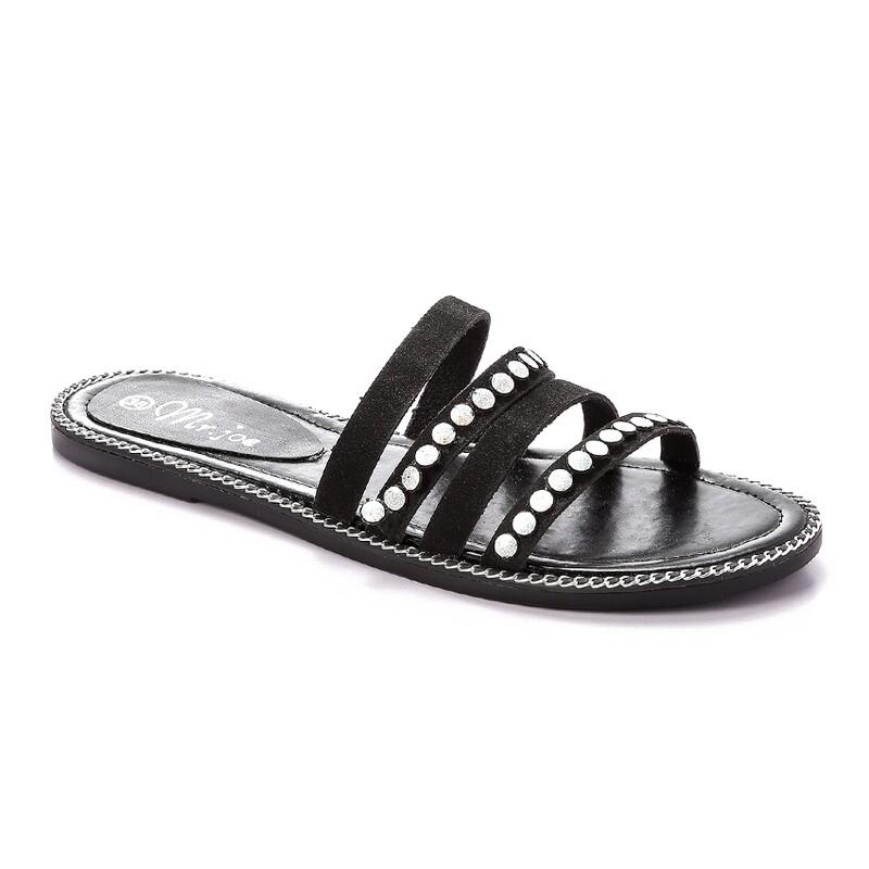 3265 Slipper -  Black